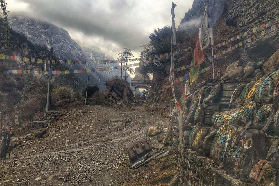 Tour des Annapurnas Nepal - sans guide blog