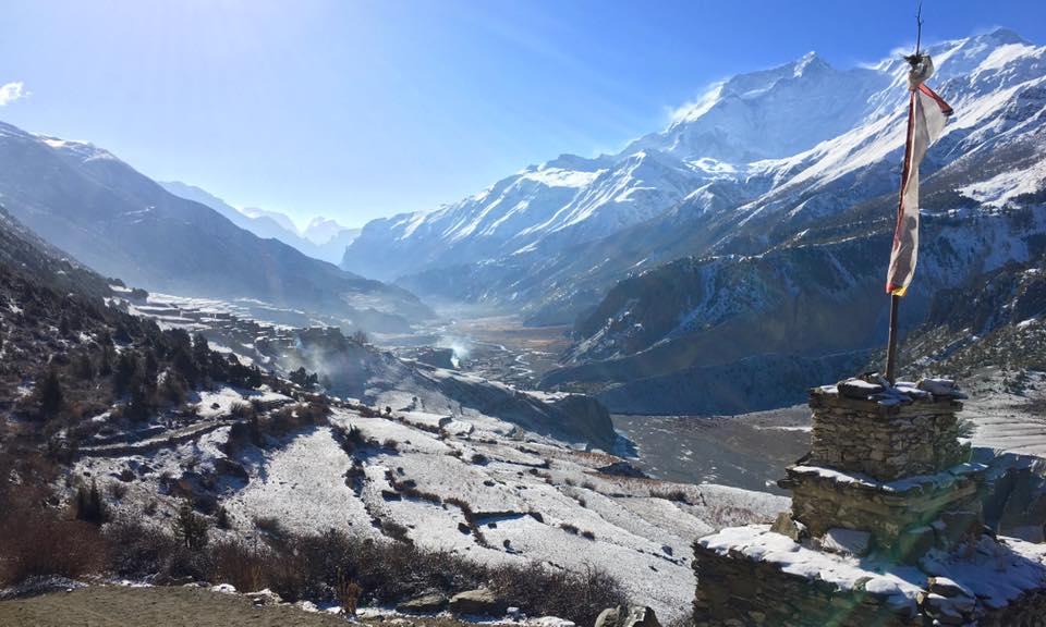 Nepal Tour des Annapurnas sans guide - blog