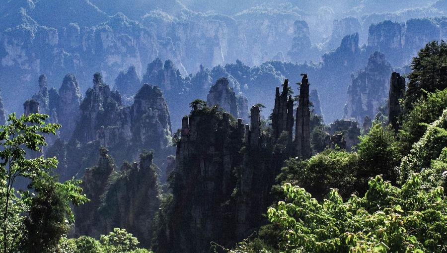 Le parc national de Zhangjiajie