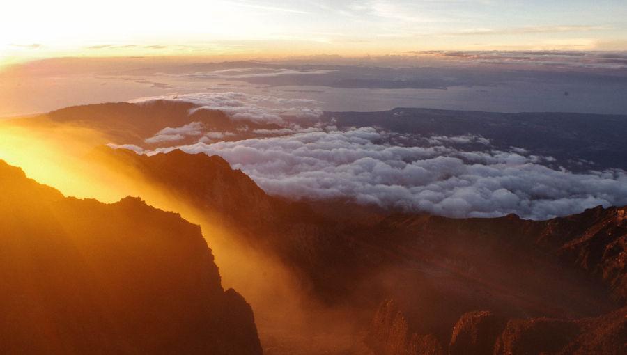 Volcan Rinjani : La magnifique poubelle