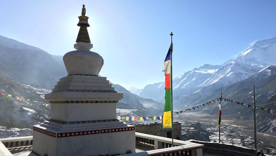 Trekking du tour des Annapurnas sans guide au Népal sur 8 jours