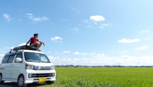 van au japon - location - road trip