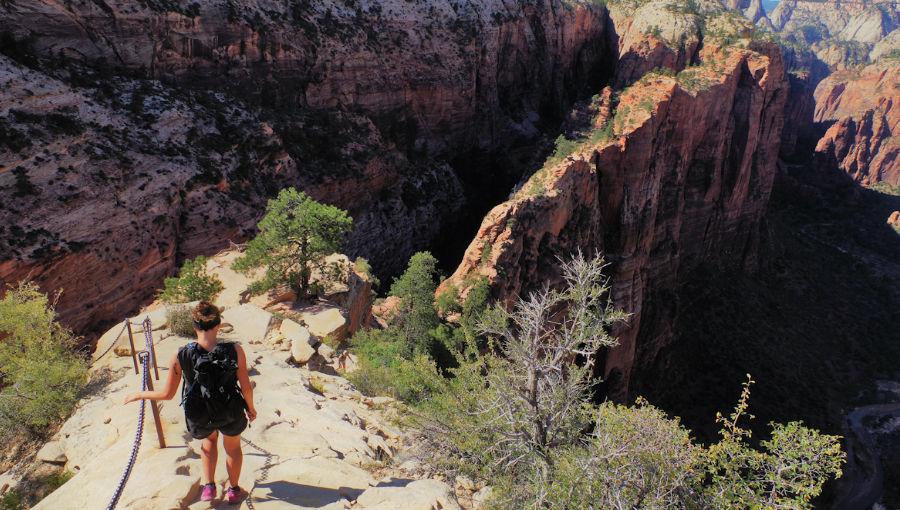 Zion National Park randonnées