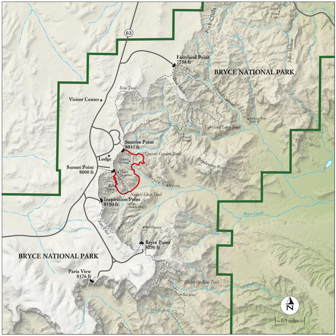 Bryce_Canyon_map_carte