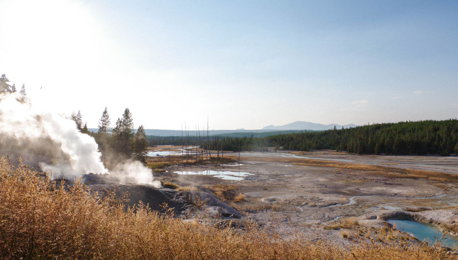 visiter le Yellowstone