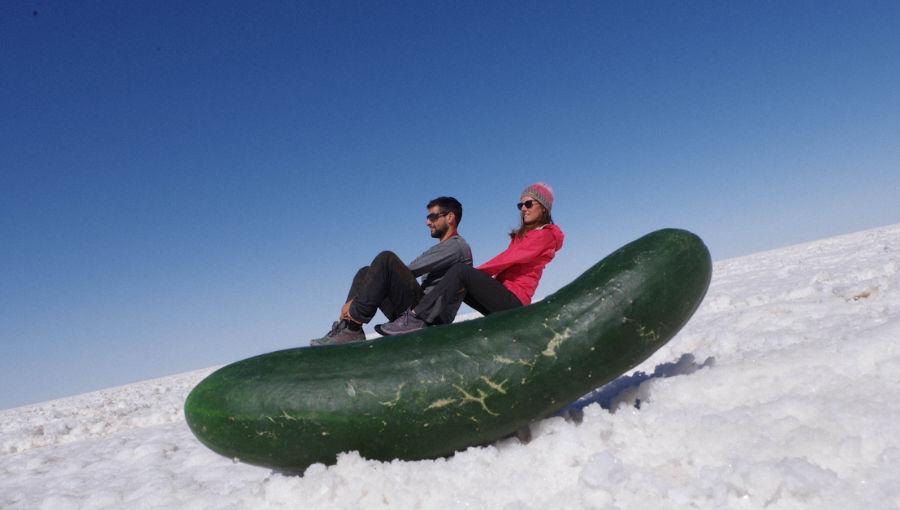 photos du désert de sel au Salar d'Uyuni
